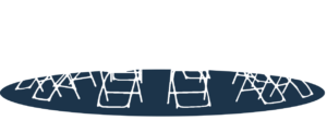 Image of empty chairs placed in a circle to represent a 12 step meeting.