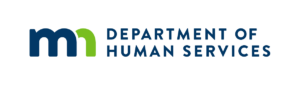Image of Minnesota Department of Human Services logo.